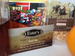 Ester's Granola