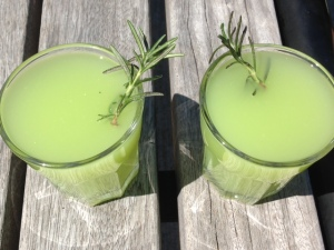 Lemonade Cucumber Drinks