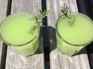 Lemonade Cucumber Drinks